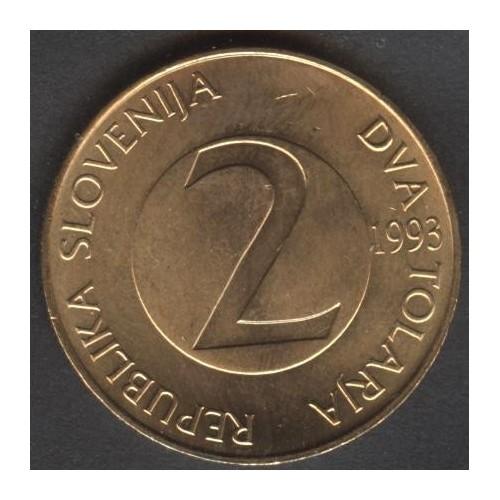 SLOVENIA 2 Tolarja 1993