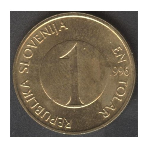 SLOVENIA 1 Tolar 1996