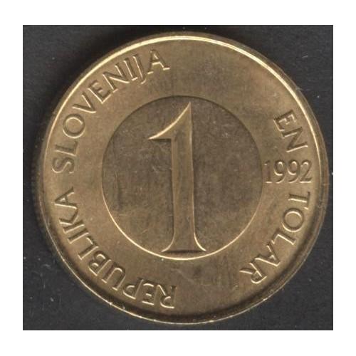 SLOVENIA 1 Tolar 1992