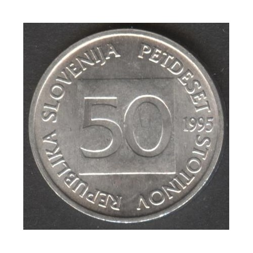 SLOVENIA 50 Stotinov 1995