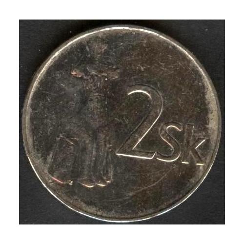 SLOVAKIA 2 Koruna 1994