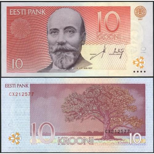 ESTONIA 10 Krooni 2007