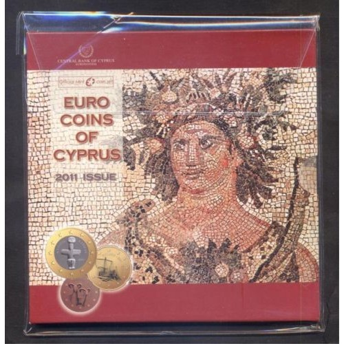 CYPRUS Set Official Euro 2011