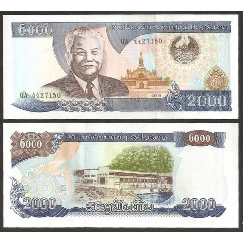 LAOS 2000 Kip 2003