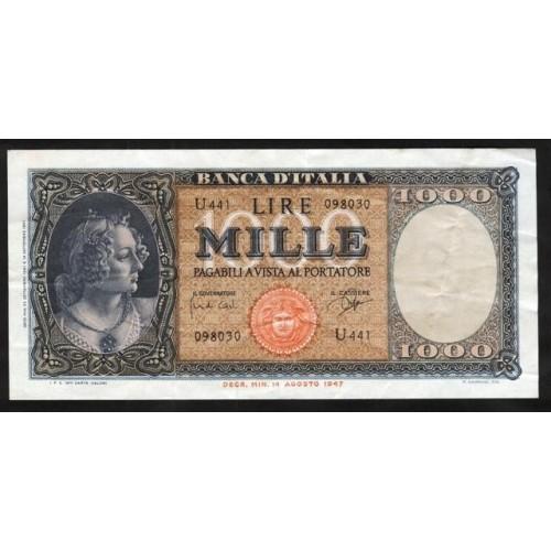 1000 Lire Medusa 1961