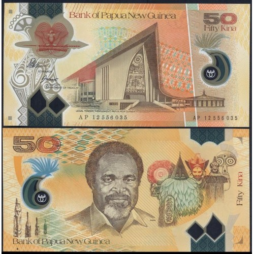 PAPUA NEW GUINEA 50 Kina...