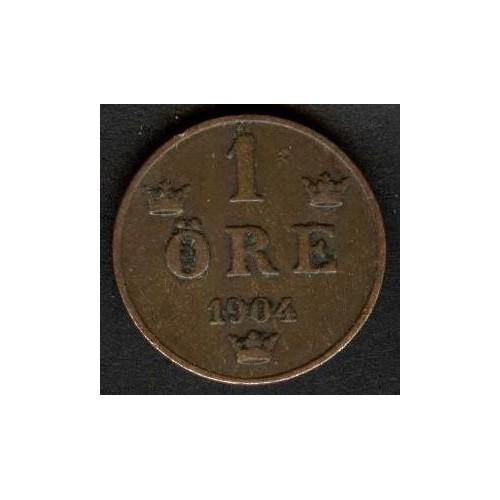 SWEDEN 1 Ore 1904