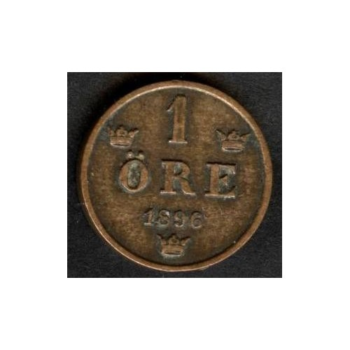 SWEDEN 1 Ore 1896