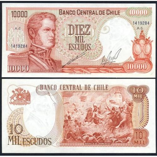 CHILE 10.000 Escudos 1967/76