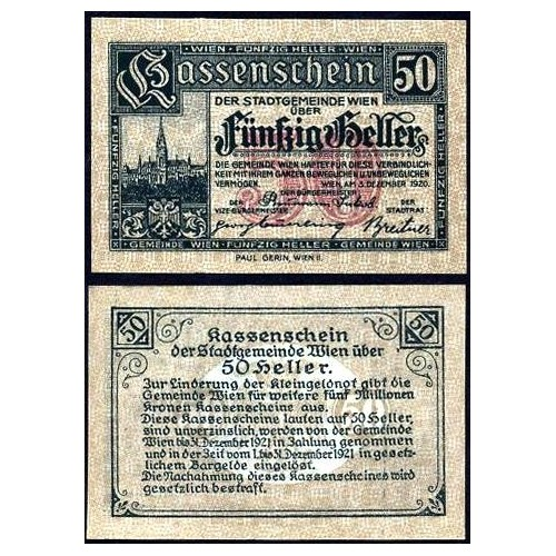 AUSTRIA 50 Heller Notgeld...