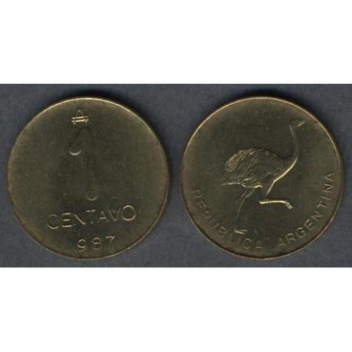 ARGENTINA 1 Centavo 1987