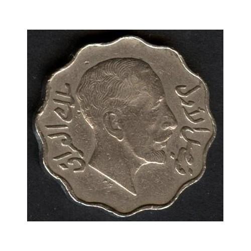 IRAQ 10 Fils 1933 Faisal I
