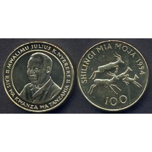 TANZANIA 100 Shilingi 1994...
