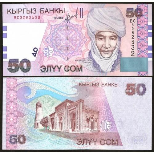 KYRGYZSTAN 50 Som 2002