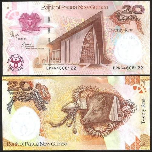 PAPUA NEW GUINEA 20 Kina...