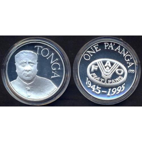 TONGA 1 Pa'anga 1995 FAO AG...