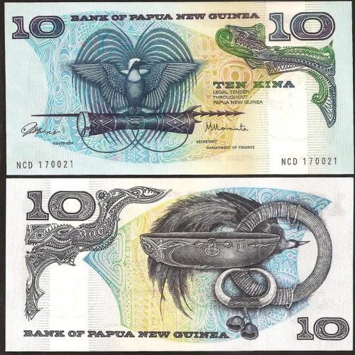 PAPUA NEW GUINEA 10 Kina...