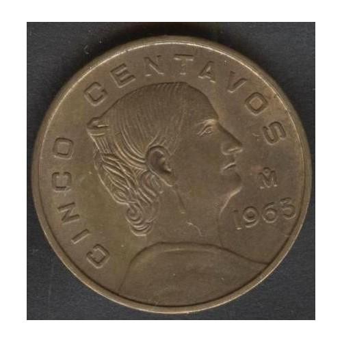 MEXICO 5 Centavos 1963