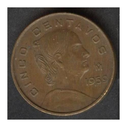 MEXICO 5 Centavos 1959