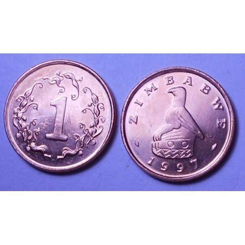 ZIMBABWE 1 Cent 1997