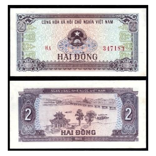 VIET NAM 2 Dong 1980