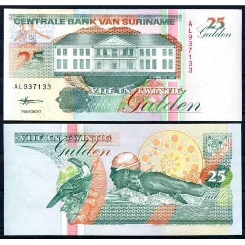 SURINAME 25 Gulden 1998