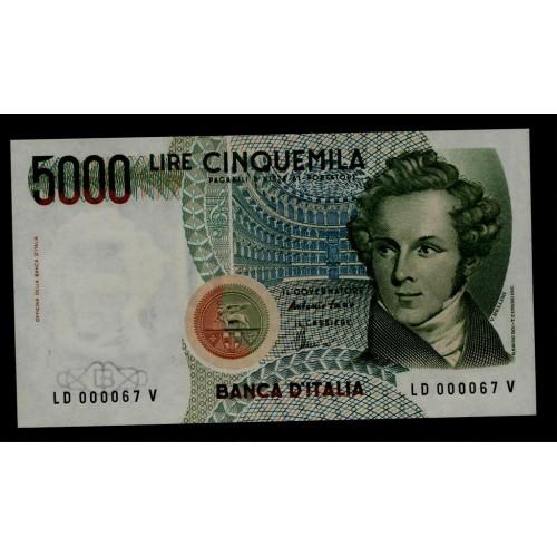 5000 Lire Bellini sr....