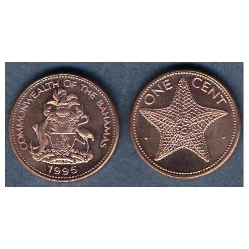 BAHAMAS 1 Cent 1995