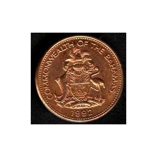 BAHAMAS 1 Cent 1992