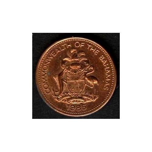 BAHAMAS 1 Cent 1985