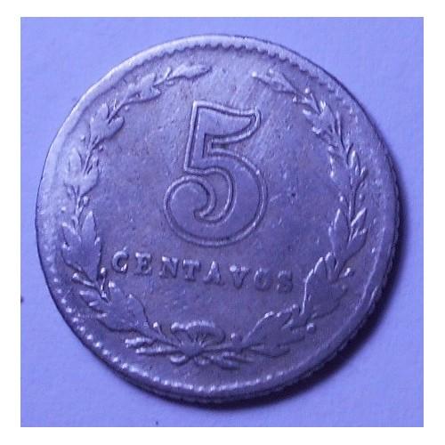 ARGENTINA 5 Centavos 1913