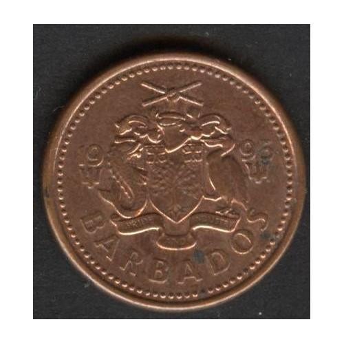 BARBADOS 1 Cent 1995