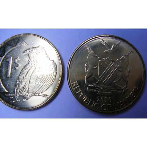 NAMIBIA 1 Dollar 2010