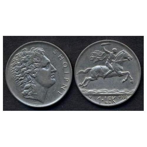 ALBANIA 1 Lek 1930