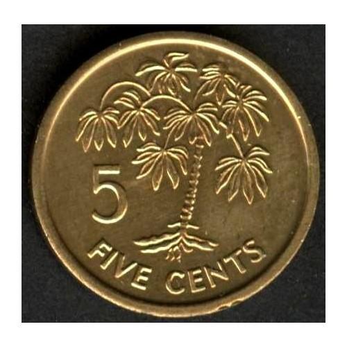 SEYCHELLES 5 Cents 2003