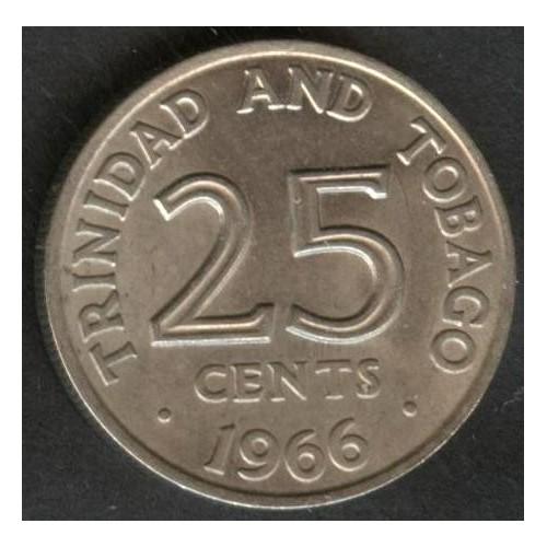 TRINIDAD & TOBAGO 25 Cents...