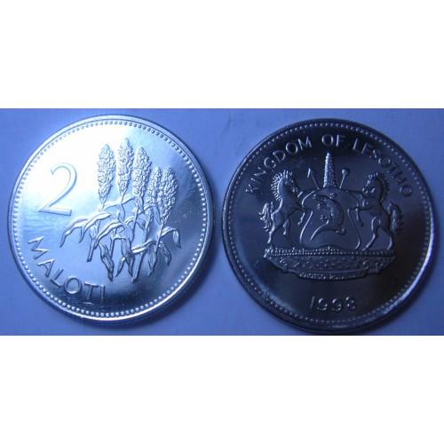 LESOTHO 2 Maloti 1998