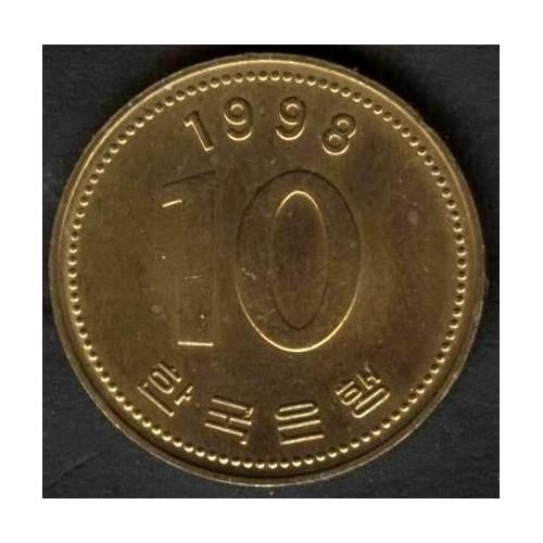SOUTH KOREA 10 Won 1998
