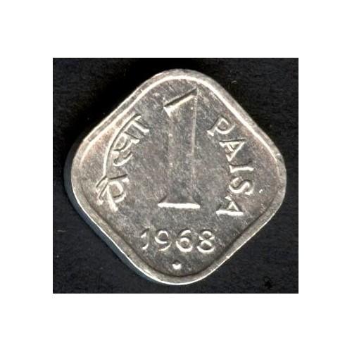 INDIA 1 Paisa 1968 B