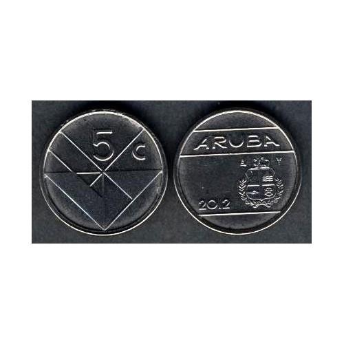 ARUBA 5 Cents 2012