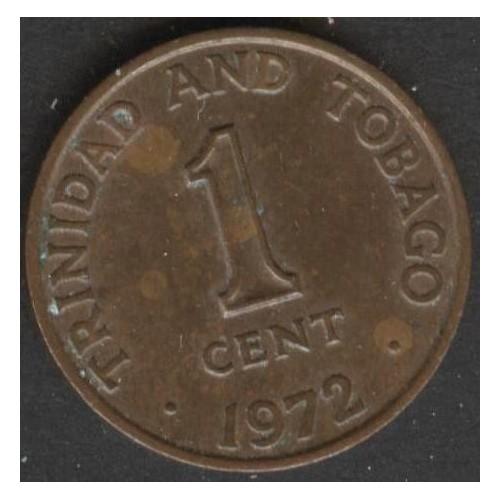 TRINIDAD & TOBAGO 1 Cent 1972