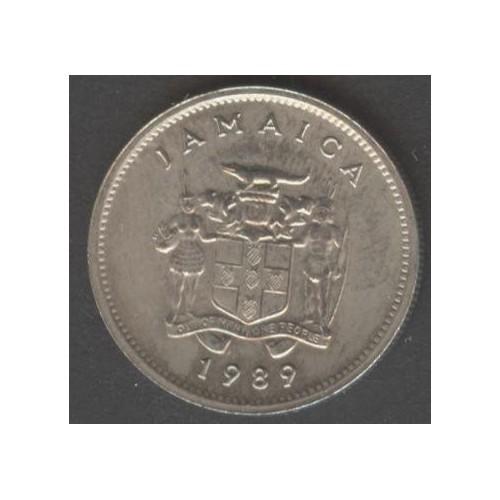 JAMAICA 5 Cents 1989