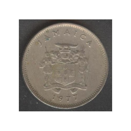 JAMAICA 5 Cents 1977