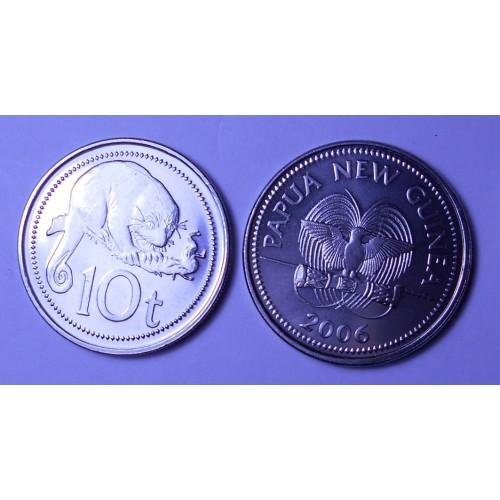 PAPUA NEW GUINEA 10 Toea 2006