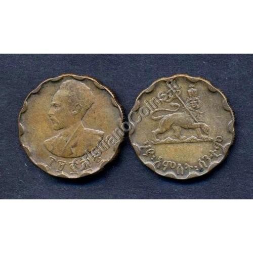 ETHIOPIA 25 Cents EE1936...