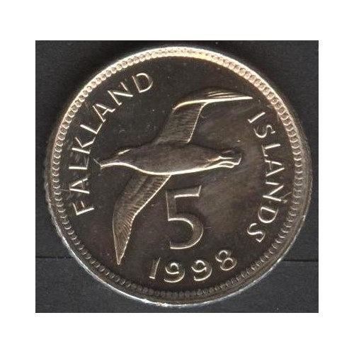 FALKLAND ISLANDS 5 Pence 1998