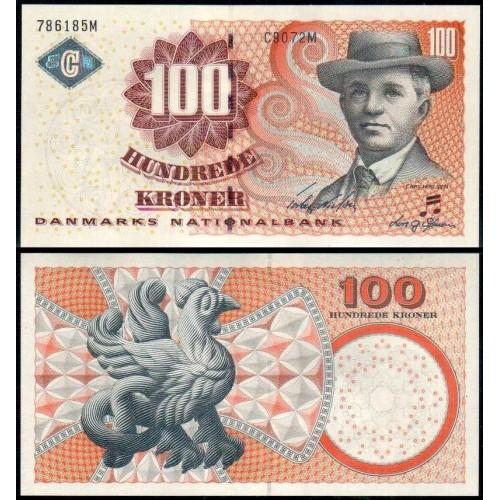 DENMARK 100 Kroner 2007
