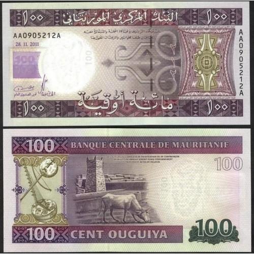 MAURITANIA 100 Ouguiya 2011