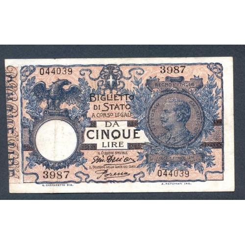5 Lire 1918