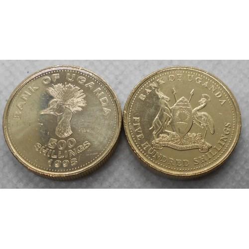 UGANDA 500 Shillings 1998